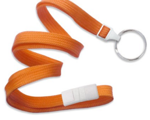 Breakaway Lanyard Orange 10 mm (3/8″)
