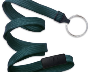 Breakaway Lanyard Teal 10 mm (3/8″)