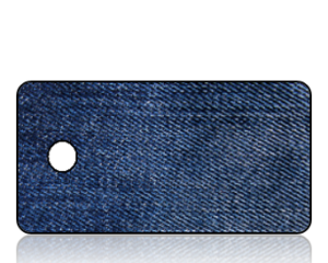 Create Design Key Tags Blue Denim