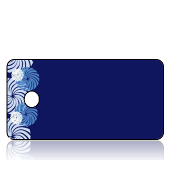 Create Design Key Tags Starlight Blue Mints