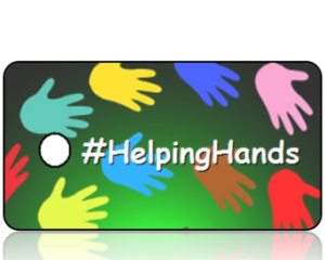 Helping Hands Hashtag Key Tags