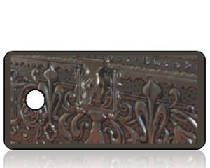 Create Design Key Tags Antique Treasure Chest