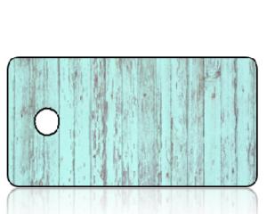 Create Design Key Tags Aqua Weathered Wood