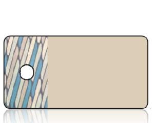 Create Design Key Tags Aqua Tile Border