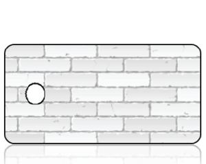 Create Design Key Tags White Brick