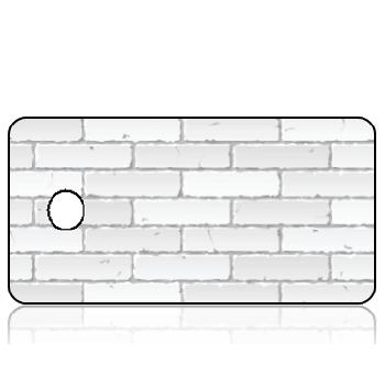 Create Design Key Tags White Brick