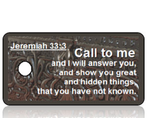 Jeremiah 33:3 Bible Scripture Key Tags