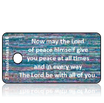 2 Thessalonians 3:16 Bible Scripture Key Tags
