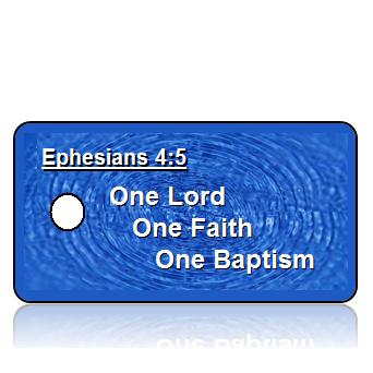 Ephesians 4:5 Bible Scripture Key Tags
