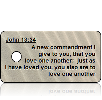John 13:34 Bible Scripture Key Tags