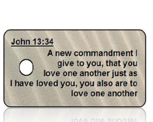 John 13:34 Bible Scripture Key Tags