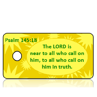 Psalm 145:18 Bible Scripture Key Tags