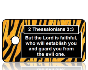 2 Thessalonians 3:3 Bible Scripture Key Tags