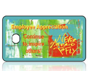 Employee Appreciation Key Tags