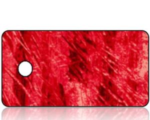 Create Design Key Tag Red Scratch