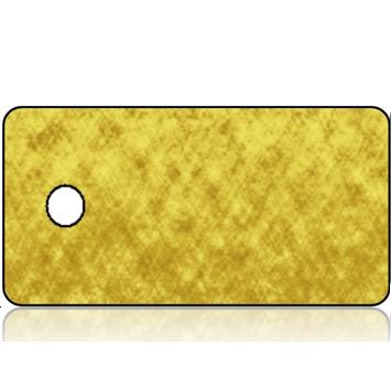 Create Design Key Tag Gold Foil Paper