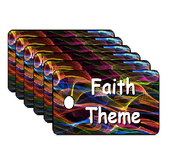 Vacation Bible School Faith Theme Scripture Tags