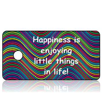 Happiness Inspirational Key Tags