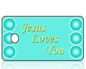 Jesus Loves You Key Tags