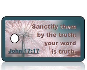 John 17:17 Bible Scripture Key Tags