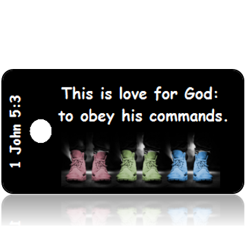 1 John 5:3 Bible Scripture Tags