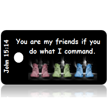 John 15:14 Bible Scripture Tags
