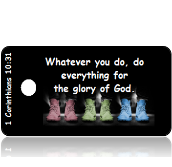 1 Corinthians 10:31 Bible Scripture Tags