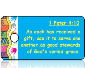 1 Peter 4:10 Bible Scripture Tags