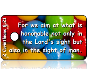 2 Corinthians 8:21 Bible Scripture Tags