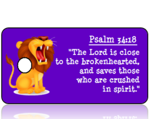Psalm 34:18 Bible Scripture Tags