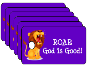 Vacation Bible School Roar