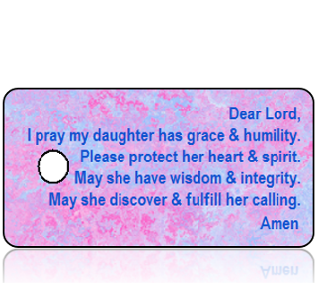 Love17 - Daughter's Prayer - Pink and Blue