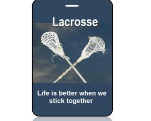 Lacrosse Bag Tag - Main Image